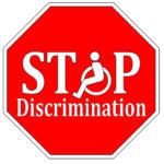 Stop sign that reads discrimination).jpg.crdownload