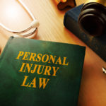 Book that reads personal injury law
