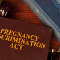 Book that reads pregnancy act