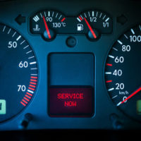 speedometer reads service now