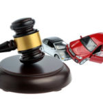 two cars and a gavel