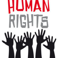 a bunch of hands human rights