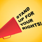 Sign that reads stand up for your rights
