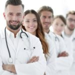 group of medical practitioners