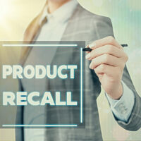 Conceptual hand writing showing Product Recall. Business photo showcasing Request by a company to return the product due to some issue.