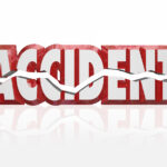 Accident 3d Word Red Letters Cracked Crash Impact Collision