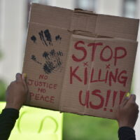 Police brutality protest
